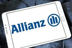Het embleem van de Allianzverzekering Royalty-vrije Stock Fotografie