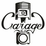Het embleem van de autodienst Royalty-vrije Stock Afbeeldingen