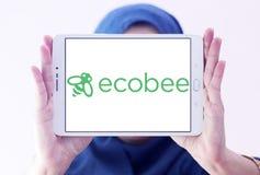 Het embleem van het de automatiseringsbedrijf van het Ecobeehuis Stock Foto's