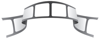 Het embleem van de band stock afbeeldingen