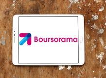 Het embleem van de Boursoramabank stock fotografie