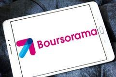 Het embleem van de Boursoramabank royalty-vrije stock foto's