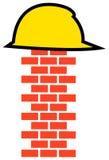 Het embleem van de bouw Royalty-vrije Stock Afbeeldingen