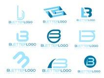 Het Embleem van de brief B vector illustratie