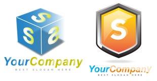 Het Embleem van de brief S Stock Afbeelding