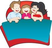 Het embleem van de familie Stock Foto's