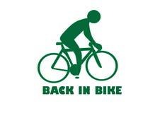 Het Embleem van de fiets vector illustratie