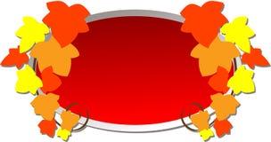 Het Embleem van de herfst Royalty-vrije Stock Afbeelding