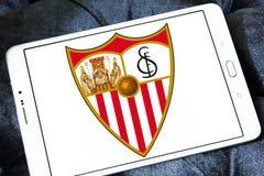 Het embleem van de het voetbalclub van Sevilla Stock Foto's