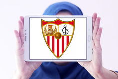Het embleem van de het voetbalclub van Sevilla Stock Afbeelding