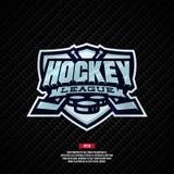 Het embleem van de hockeyliga Royalty-vrije Stock Afbeeldingen