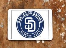 Het embleem van de het honkbalclub van San Diego Padres Stock Foto's