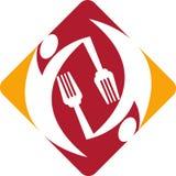 Het embleem van de kok Royalty-vrije Stock Afbeeldingen