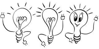 Het embleem van de lamp Royalty-vrije Stock Fotografie