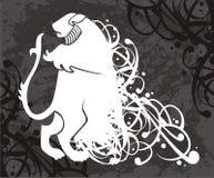 Het embleem van de leeuw royalty-vrije illustratie