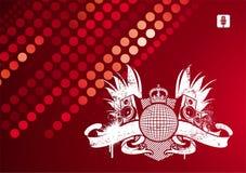 Het embleem van de muziek royalty-vrije illustratie