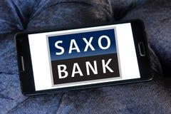 Het embleem van de Saxobank stock afbeelding
