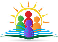 Het embleem van de school Stock Afbeeldingen