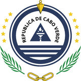 Het embleem van de staat van Kaapverdië Stock Foto's
