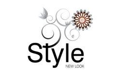 Het Embleem van de stijl Stock Afbeelding
