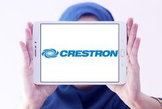 Het embleem van het de systemenbedrijf van de Crestronautomatisering Royalty-vrije Stock Foto