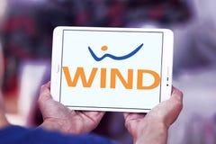 Het embleem van het de telecommunicatiebedrijf van WINDitalië Royalty-vrije Stock Foto
