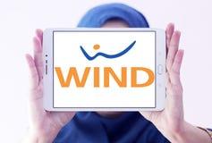 Het embleem van het de telecommunicatiebedrijf van WINDitalië Stock Fotografie