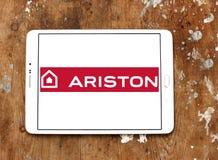 Het embleem van het de toestellenbedrijf van het Aristonhuis Stock Foto