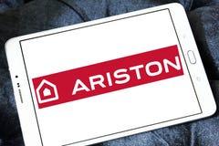 Het embleem van het de toestellenbedrijf van het Aristonhuis Stock Afbeeldingen