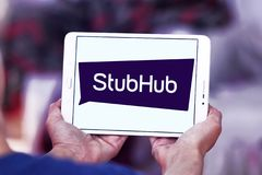 Het embleem van het de uitwisselingsbedrijf van het StubHubkaartje Royalty-vrije Stock Foto