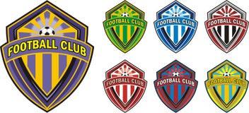 Het embleem van de voetbalclub Stock Foto's