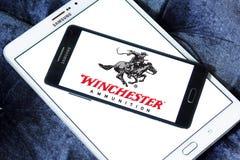 Het embleem van het de Wapensbedrijf van Winchester Stock Fotografie
