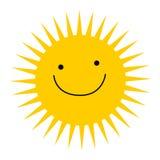 Het embleem van de zon Royalty-vrije Stock Afbeeldingen