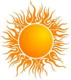 Het embleem van de zon Stock Foto's