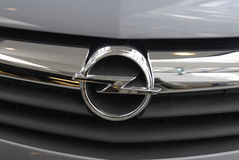 Het embleem van DENMARK_Opel Royalty-vrije Stock Foto