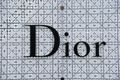 Het embleem van Dior Royalty-vrije Stock Foto