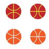 Het embleem van het douanebasketbal vector illustratie