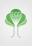 Het embleem van Eco Royalty-vrije Stock Foto's