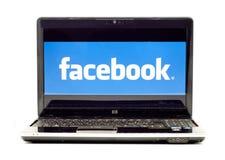 Het Embleem van Facebook Stock Foto