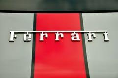 Het embleem van Ferrari Stock Afbeeldingen
