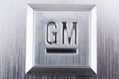 Het Embleem van GM General Motors royalty-vrije stock foto