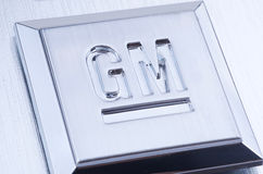Het Embleem van GM General Motors royalty-vrije stock afbeelding