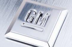 Het Embleem van GM General Motors stock foto