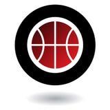 Het embleem van het basketbal Stock Foto's