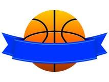 Het Embleem van het basketbal Stock Afbeelding