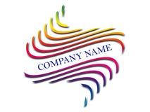 Het embleem van het bedrijf Stock Fotografie