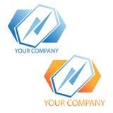 Het embleem van het bedrijf Stock Foto's