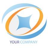 Het embleem van het bedrijf Royalty-vrije Stock Fotografie