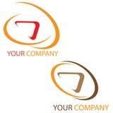 Het embleem van het bedrijf stock illustratie