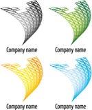 Het embleem van het bedrijf Stock Foto